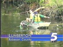 Robeson Woman Drowns in River