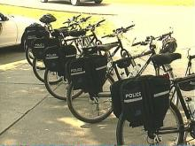 Community officers will patrol on bicycles