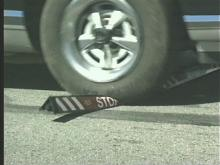 """""""Stop Sticks' can stop vehicles involved in high-speed chases."""