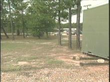 The body of a newborn infant was found in a dumpster at this area at Fort Bragg.