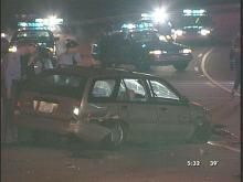 Raleigh Police captured two robbery suspects after a Thursday night high speed chase.