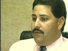 Robeson County Detective Mark Locklear
