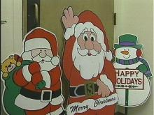 Dozens of stolen Christmas decorations were found in the Sigma Alpha Epsilon fraternity house in Chapel Hill last Sunday.