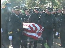 Law Enforcement Colleagues Say Goodbye