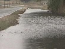 Schools will be delayed in several counties Thursday due to flooded roads. (WRAL-TV5 News)