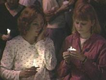 The vigil was an emotional experience for many people.