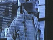 This man is the suspect of a string of bank robberies
