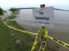 Jordan Lake Swimming Area Closed
