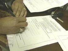 DMV Offices Swamped With Form Seekers
