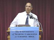 Dr. Joseph Eron is one of the researchers responsible for the discovery that HIV is mutating. (WRAL-TV5 News)