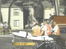 Two apartments were declared uninhabitable (WRAL-TV5 News)