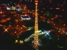 WRAL Wishes The Community Happy Holidays with Lighting of the Tower