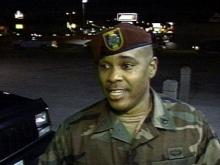 Sgt. Vincent Poole said that it was about time that the U.S. attacked Iraq.(WRAL-TV5 News)