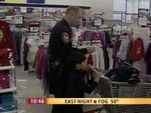 Kids, Cops Hit the Shops