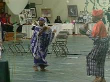 The Fourth Annual Cary Kwanzaa Celebration featured African music and dance.(WRAL-TV5 News)