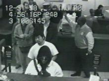 This bank robber held up the Wachovia on Blue Ridge Road Wednesday.(WRAL-TV5 News)