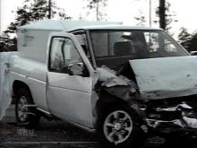 This is one of the vehicles involved in the fatal wreck(WRAL-TV5 News)