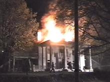 This 111-year-old house was destroyed in the fire.(WRAL-TV5 News)