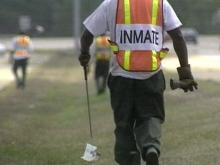 Last year, inmates and volunteers picked up 8.6 million pounds of trash along state roads.(WRAL-TV5 News)