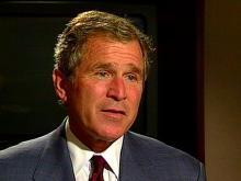 Bush's Campaign Trail Runs Through the Triangle