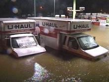 Floyd Brings Rain, Flooding to North Carolina; High Winds Head East