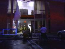 Police say 73-year-old David Dexter Hilliard of Cary may have suffered a heart attack, and accidently hit the gas, sending his truck into the offices of Interact.(WRAL-TV5 News)