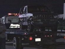 A 17-year-old was shot inside, or very near, this late 1980s Ford Bronco II.(WRAL-TV5 News)