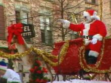 For more than 20 years, the Christmas Parade has traveled down Hay Street in Downtown Fayetteville.(WRAL-TV5 News)