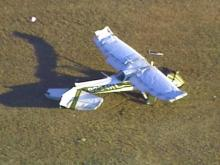 This plane went down soon after take-off near Pikeville Thursday afternoon.(WRAL-TV5 News)