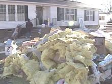 Rebuilding After Floyd Continues, Even During the Holidays