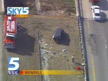 One person has died in an accident on Highway 64 in Wendell.(WRAL-TV5 News)
