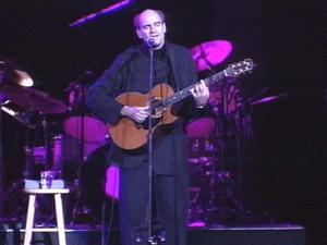 James Taylor spent News Year's Eve entertaining 12,000 fans -- some who travelled from across the U.S. just to see him live in concert.(WRAL-TV5 News)
