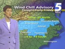 Windy Winter Weather To Whip Across Triangle