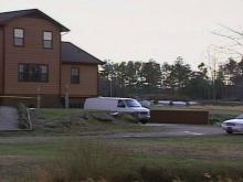 Police found Haskin's body in a storage area underneath this house.(WRAL-TV5 News)