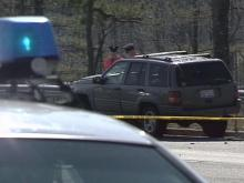 An accident involving this vehicle killed a Raleigh resident Sunday afternoon.(WRAL-TV5 News)