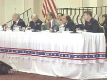Congressmen held a field hearing at Fort Bragg Monday in an effort to remove barriers involving Tricare, a form of military health-care coverage.(WRAL-TV5 News)