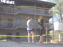 Students Return To Durham Apartments After Monday Night Fire