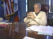 Fayetteville Mayor J.L. Dawkins says he is not going anywhere, despite what the city's paper says.(WRAL-TV5 News)