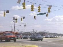 A new Safelight camera was installed at the intersection of Bragg Boulevard and Sycamore Dairy Road. Drivers caught on tape will have to pay an $50 fine.(WRAL-TV5 News)