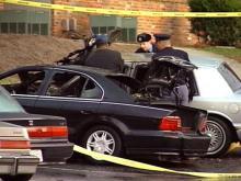 Man Dies in Fiery Crash in Raleigh Parking Lot