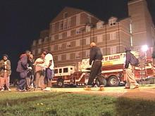 Investigators say the fire at Boyer Hall was not accidental.(WRAL-TV5 News)