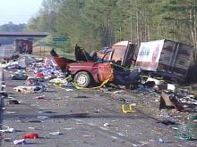 Three Die When Tractor-Trailer Hits U-Haul, Car on Interstate 95
