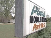 The residents of the Pines Mobile Home Park No. 2 have an old wastewater treatment system. The park's owner says she cannot afford to fix it so the park will close June 1.(WRAL-TV5 News)