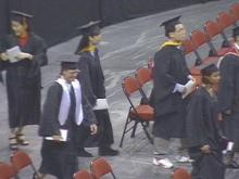 All the years of hard work and studying finally paid off for some N.C. State students with their graduation on Saturday.(WRAL-TV5 News)
