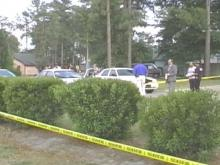 A fatal shooting took place on Duncan Street Wednesday evening in the town of Spring Lake.(WRAL-TV5 News)