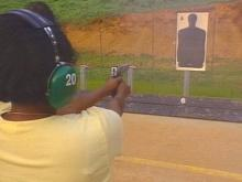 The Durham Police Department's Citizens' Police Academy shows amateurs how to take aim at crime.(WRAL-TV5 News)