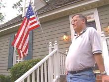 Cary Man Says Subdivision Is Preventing Him From Flying Patriotic Colors