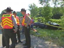 Four people are dead after an auto accident on Interstate 85 in Warren County.(WRAL-TV5 News)