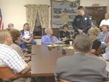 Town commissioners in Newton Grove will stick with a private police force for at least another year.(WRAL-TV5 News)