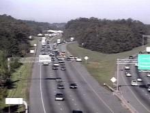 A wreck along Interstate 40 caused a huge delay Friday, because the drivers involved the accident remained in the middle of the road.(WRAL-TV5 News)